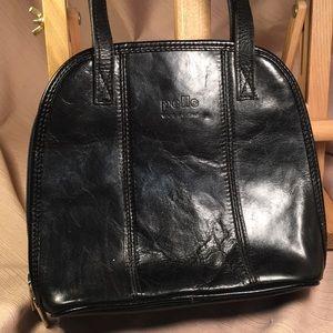 Pelle leather shoulder bag